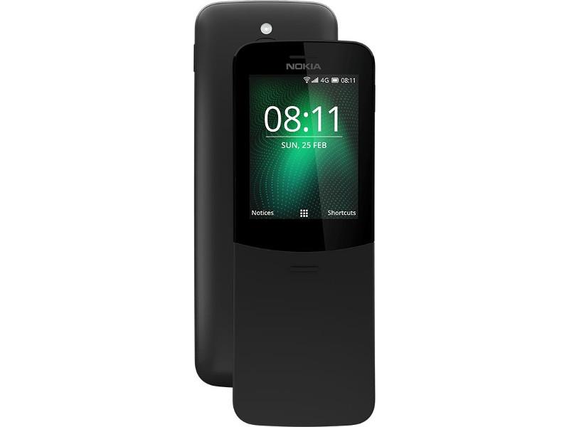 Сотовый телефон Nokia 8110 4G Black сотовый телефон oukitel c8 4g black