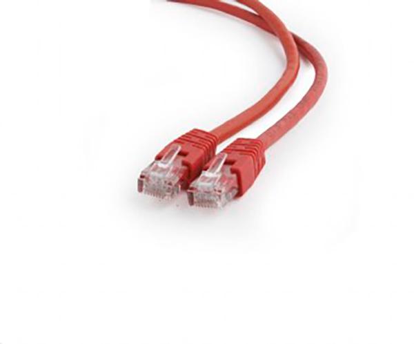 Сетевой кабель Gembird Cablexpert UTP cat.6 1m Red PP6U-1M/R