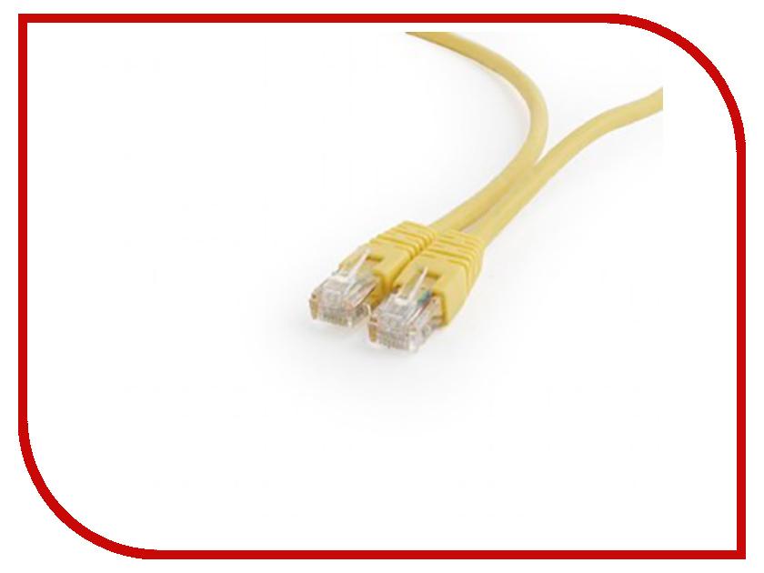 Сетевой кабель Gembird Cablexpert UTP cat.6 1m Yellow PP6U-1M/Y сетевой кабель gembird cablexpert utp cat 6 0 25m yellow pp6u 0 25m y