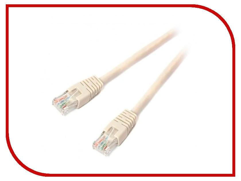 Сетевой кабель Gembird Cablexpert UTP cat.6 5m Grey PP6U-5M сетевой кабель gembird cablexpert ftp cat 5e 0 5m orange pp22 0 5m o