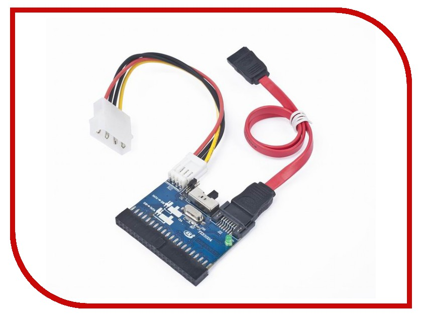 Аксессуар Gembird SATA-IDE-2 - Адаптер 2-х направленный 1pcs serial ata sata 4 pin ide to 2 of 15 hdd power adapter cable hot worldwide