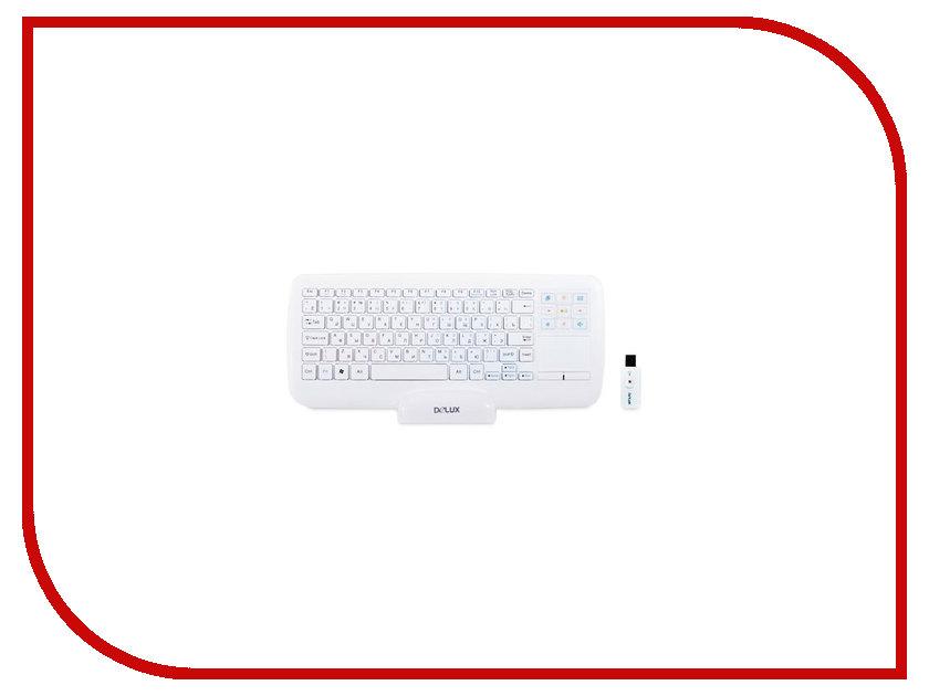 Клавиатура Delux DLK-2880GW White