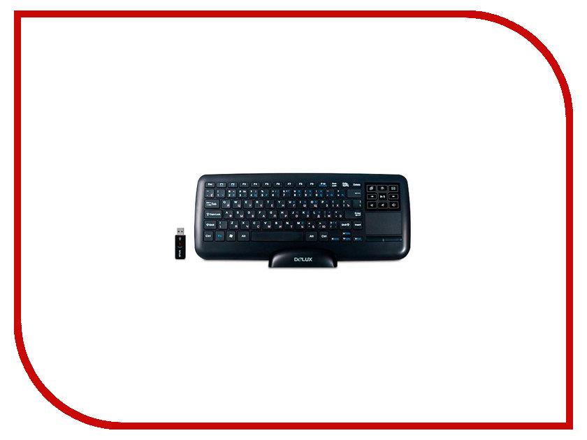 Клавиатура Delux DLK-2880GB Black delux
