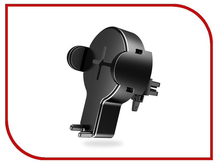 Держатель Rock W2 Pro Car Wireless Charging Stand Black портмоне wenger business w2 04 w2 04black