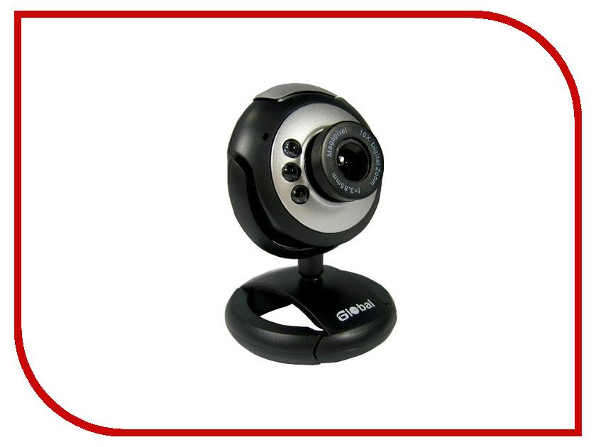 Вебкамера Global A-9 Silver-Black
