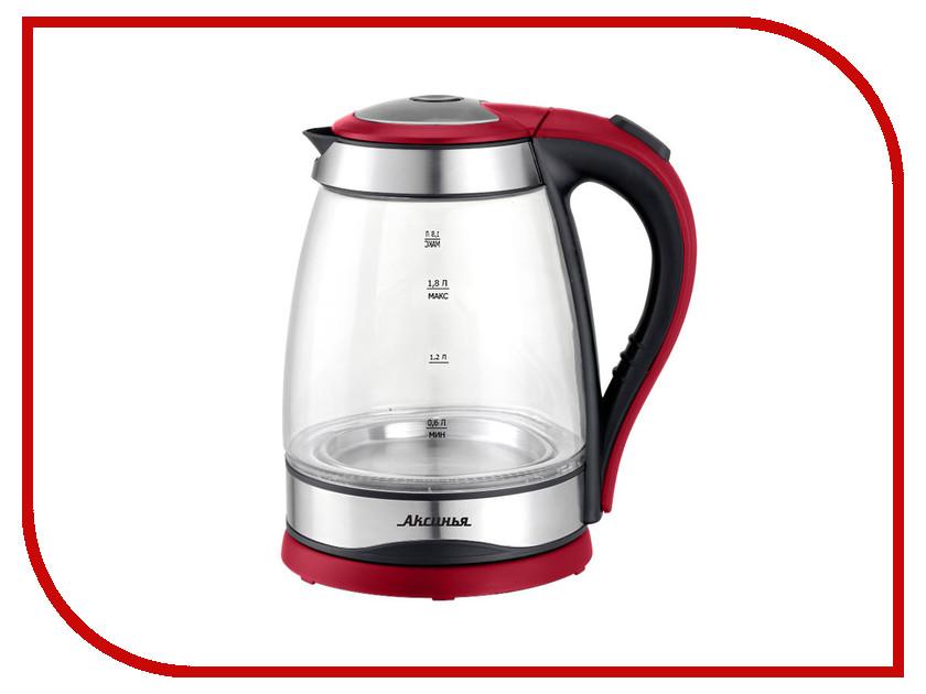 Чайник Аксинья КС-1004 Black-Red админа в кс 1 6 бесплатно