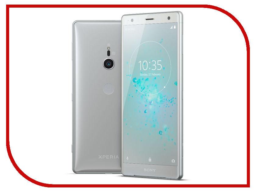 Сотовый телефон Sony Xperia XZ2 Silver wierss розовый для sony xz2