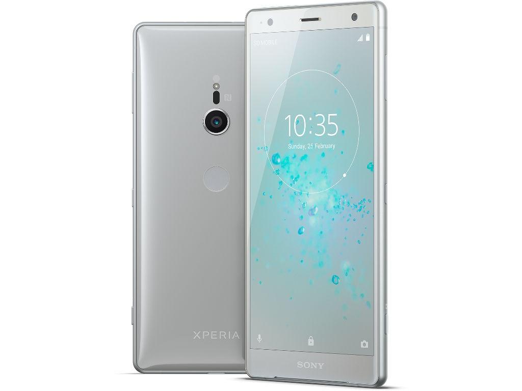 Сотовый телефон Sony Xperia XZ2 Silver сотовый телефон sony xperia xz2 compact black