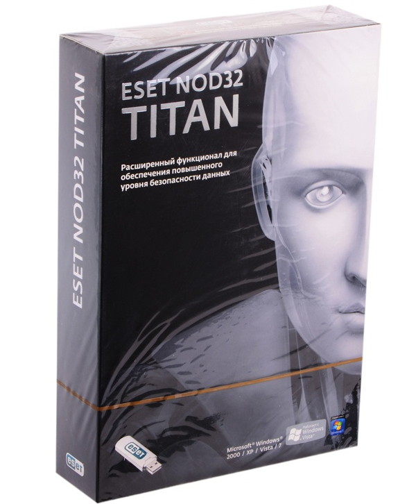 Программное обеспечение Eset NOD32 Titan version 2 3xPC and 1 mobile year NOD32-EST-NS(BOX2)-1-1