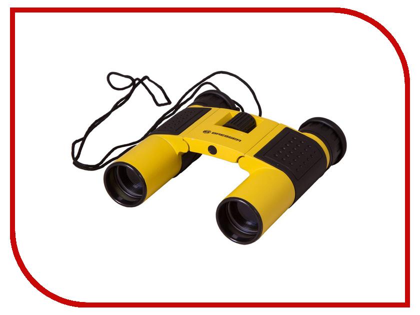Бинокль Bresser Topas 10x25 Yellow линза барлоу bresser брессер 3х 1 25 ахроматическая