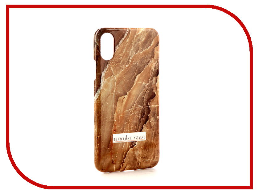 Аксессуар Чехол Mamba Case Silver-Pear для APPLE iPhone X