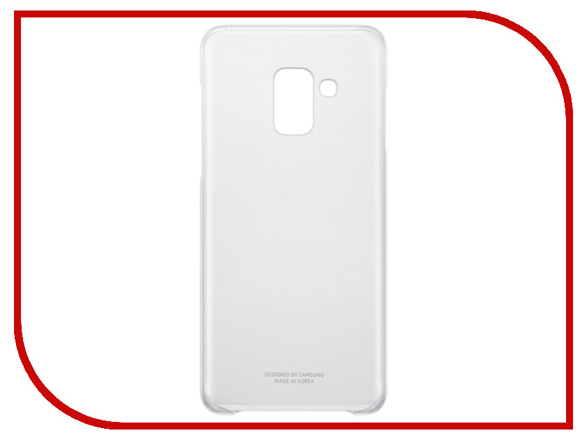 Аксессуар Чехол-накладка Samsung Galaxy A8 2018 Clear Cover Transparent EF-QA530CTEGRU