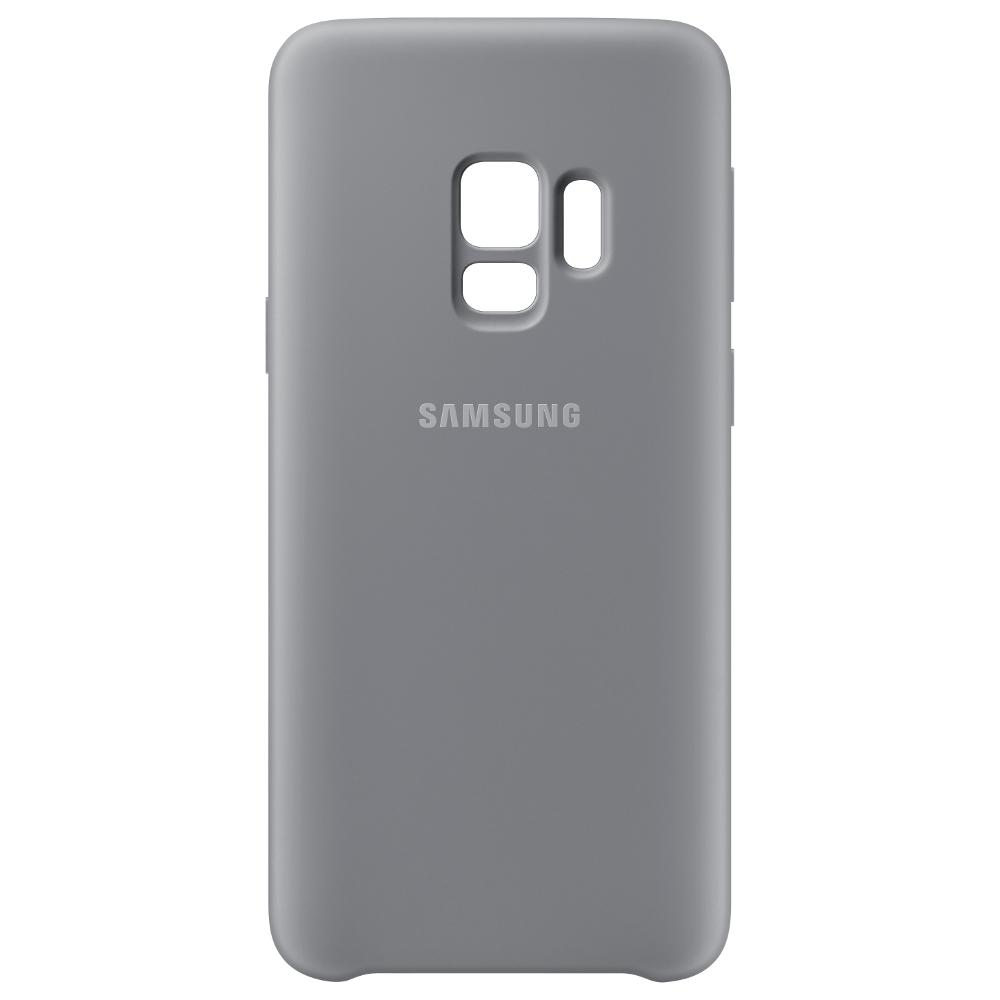 Аксессуар Чехол-накладка Samsung Galaxy S9 Silicone Cover Grey EF-PG960TJEGRU