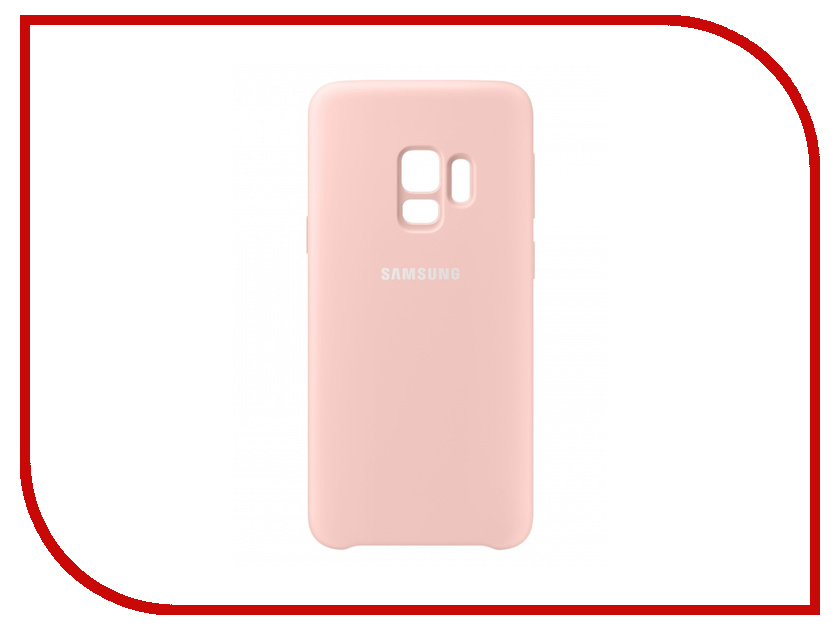 Аксессуар Чехол-накладка Samsung Galaxy S9 Silicone Cover Pink EF-PG960TPEGRU sexy style floral print splicing lace up women s bustiers