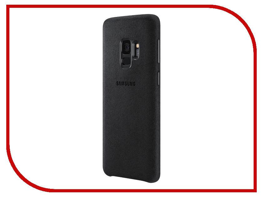 Аксессуар Чехол Samsung Galaxy S9 Alcantara Cover Black EF-XG960ABEGRU чехол samsung siliconecover для galaxy s9 g960 ef pg960tbegru black