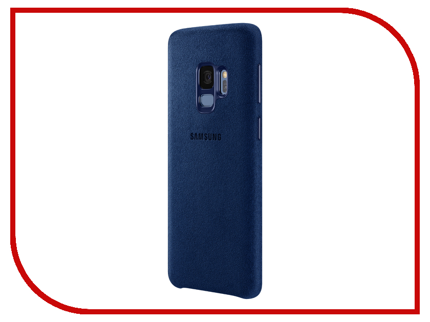Аксессуар Чехол Samsung Galaxy S9 Alcantara Cover Blue EF-XG960ALEGRU аксессуар чехол samsung galaxy s9 plus silicone cover light blue ef pg965tlegru