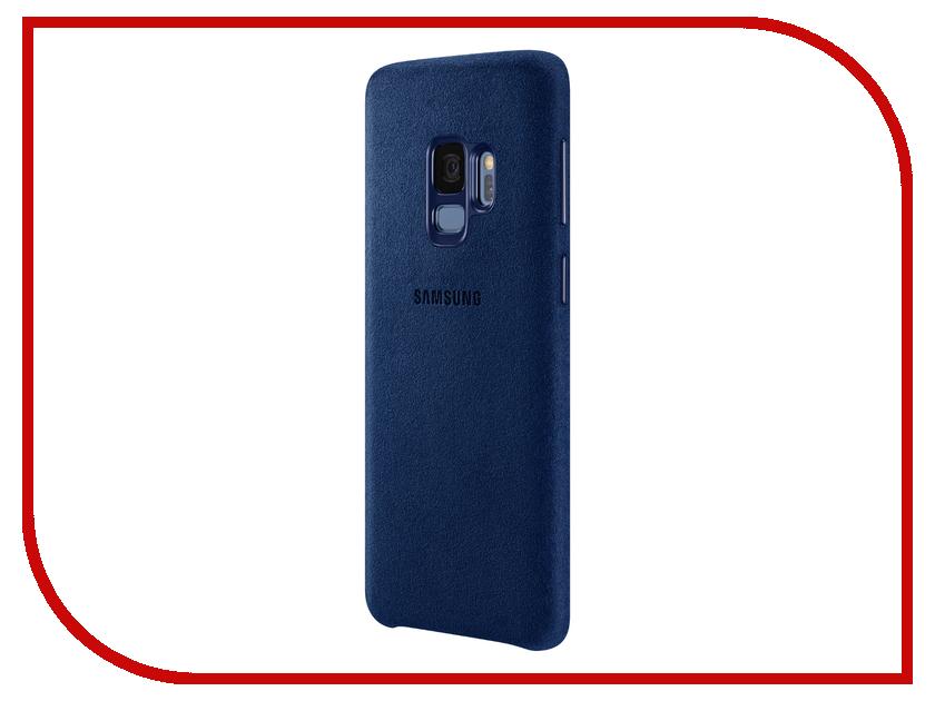 Аксессуар Чехол Samsung Galaxy S9 Alcantara Cover Blue EF-XG960ALEGRU samsung glitter cover ef xn920clegru blue