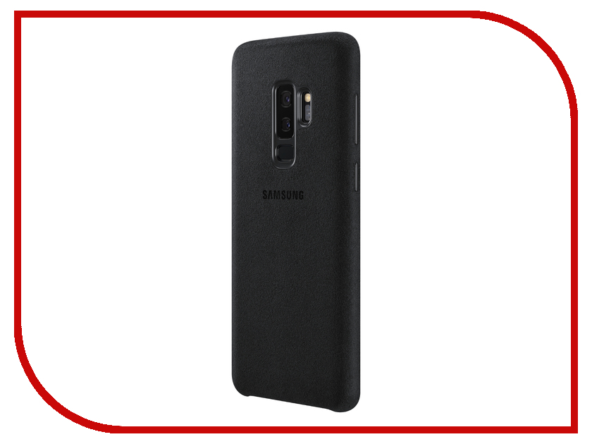 Аксессуар Чехол Samsung Galaxy S9 Plus Alcantara Cover Black EF-XG965ABEGRU аксессуар чехол samsung galaxy s9 plus alcantara cover red ef xg965aregru