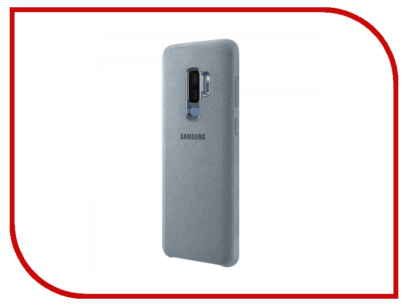 Аксессуар Чехол Samsung Galaxy S9 Plus Alcantara Cover Mint EF-XG965AMEGRU аксессуар чехол samsung galaxy s9 plus silicone cover light blue ef pg965tlegru