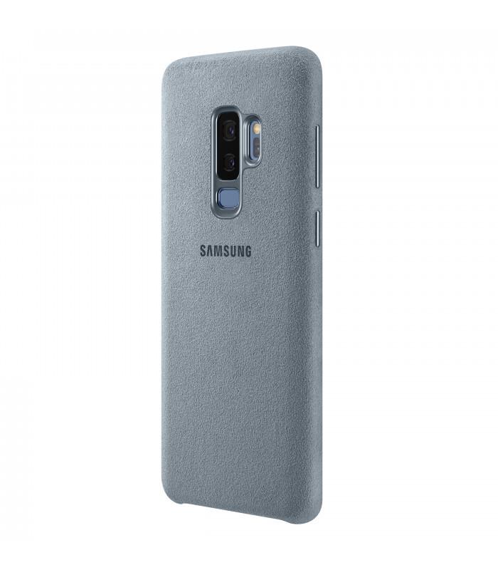 Аксессуар Чехол Samsung Galaxy S9 Plus Alcantara Cover Mint EF-XG965AMEGRU аксессуар чехол samsung galaxy note 8 led view cover gold ef nn950pfegru