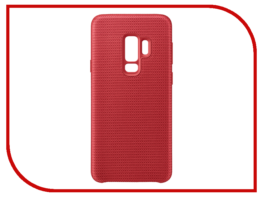 Аксессуар Чехол Samsung Galaxy S9 Plus Hyperknit Cover Red EF-GG965FREGRU аксессуар чехол samsung galaxy s9 plus alcantara cover red ef xg965aregru