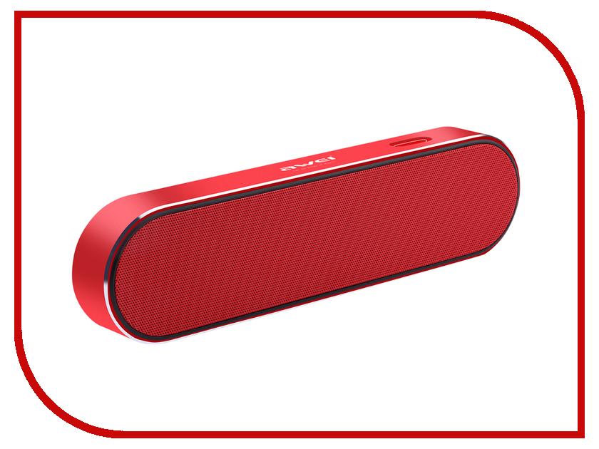 Колонка Awei Y220 Red колонка awei y900 pink