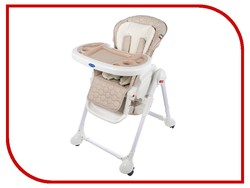 Стул Sweet Baby Luxor Classic Beige sweet baby стульчик для кормления luxor classic mela
