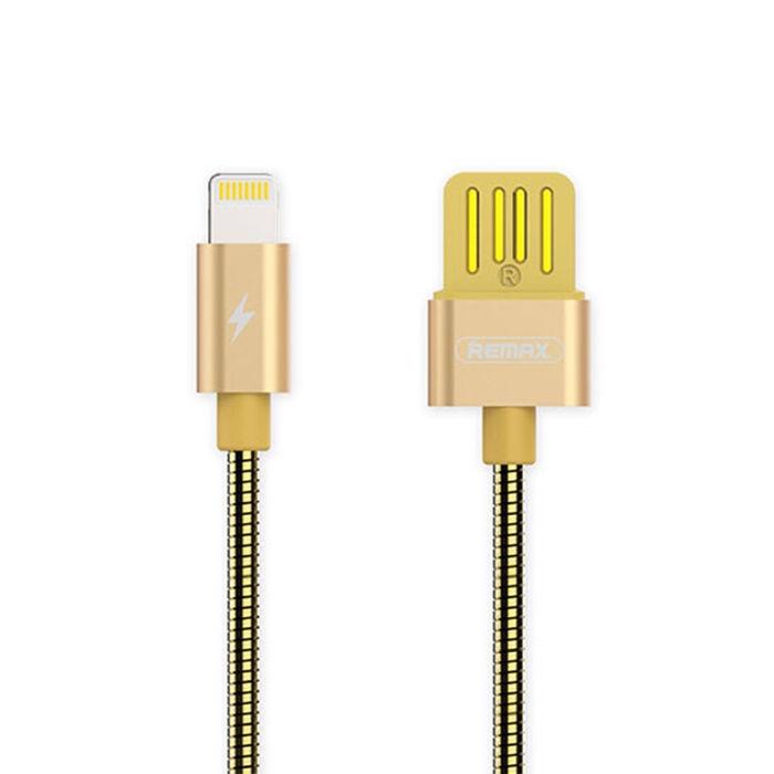 Аксессуар Remax Lightning RC-080i Tinned Copper Gold