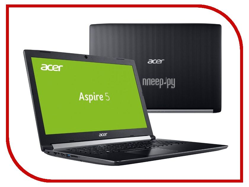 Ноутбук Acer Aspire A517-51G-58BL NX.GSTER.009 (Intel Core i5-7200U 2.5 GHz/8192Mb/1000Gb + 128Gb SSD/nVidia GeForce 940MX 2048Mb/Wi-Fi/Bluetooth/Cam/17.3/1920x1080/Windows 10 64-bit) ноутбук acer aspire e5 576g 51uh nx gsber 005 intel core i5 8250u 1 6 ghz 8192mb 1000gb 128gb ssd nvidia geforce mx150 2048mb wi fi bluetooth cam 15 6 1920x1080 windows 10 64 bit