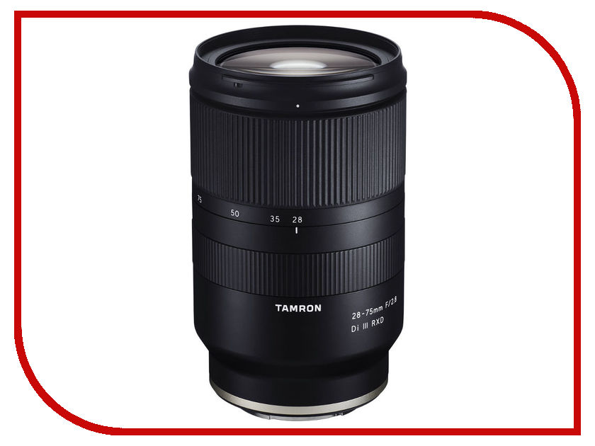 Объектив Tamron Sony E 28-75 mm F/2.8 Di III RXD acq63 75 airtac type aluminum alloy thin cylinder all new acq63 75 series 63mm bore 75mm stroke