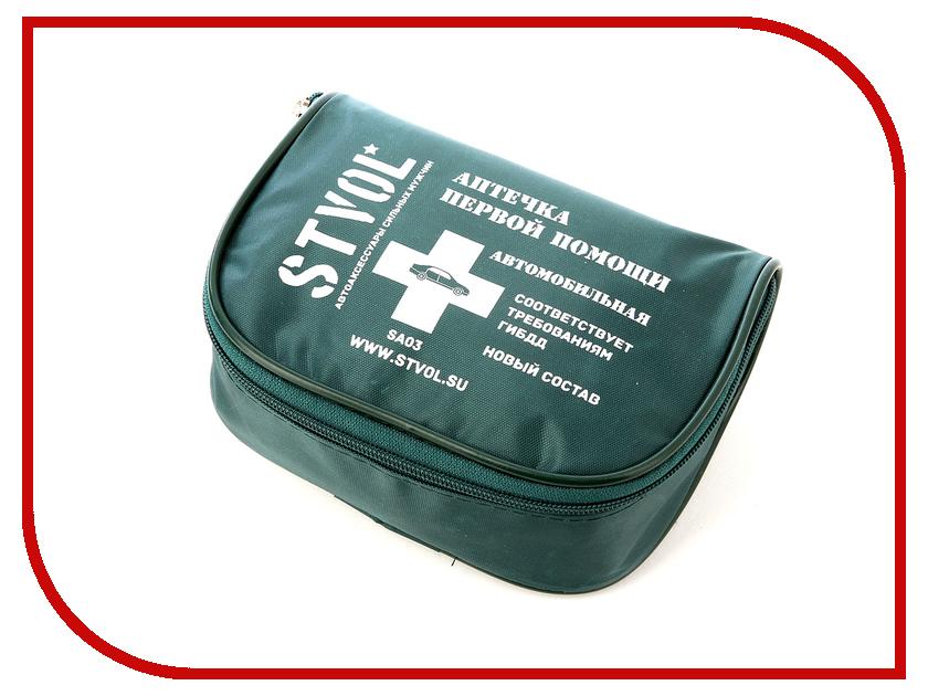Аптечка Stvol SA03 домкрат stvol sdf2325 2т 135 325мм