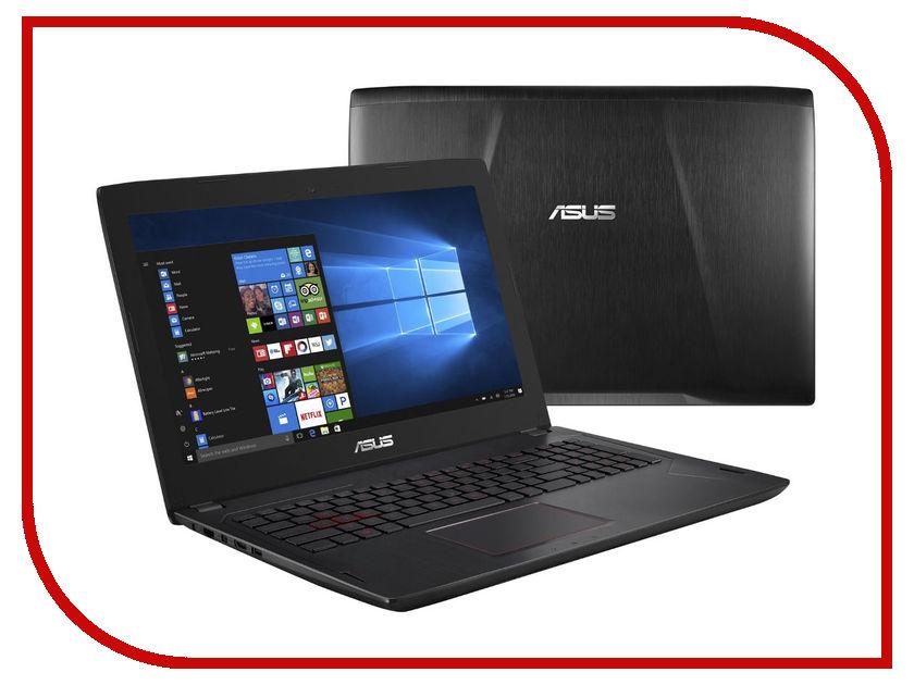 Ноутбук ASUS FX502VM-FY248T 90NB0DR5-M04730 (Intel Core i7-7700HQ 2.8 GHz/8192Mb/1000Gb + 128Gb SSD/nVidia GeForce GTX 1060 3072Mb/Wi-Fi/Bluetooth/Cam/15.6/1920x1080/Windows 10 64-bit) asus fx502vm fy156r [90nb0dr5 m02890] black 15 6 fhd i7 6700hq 16gb 1tb 256gb ssd gtx1060 3gb w10pro