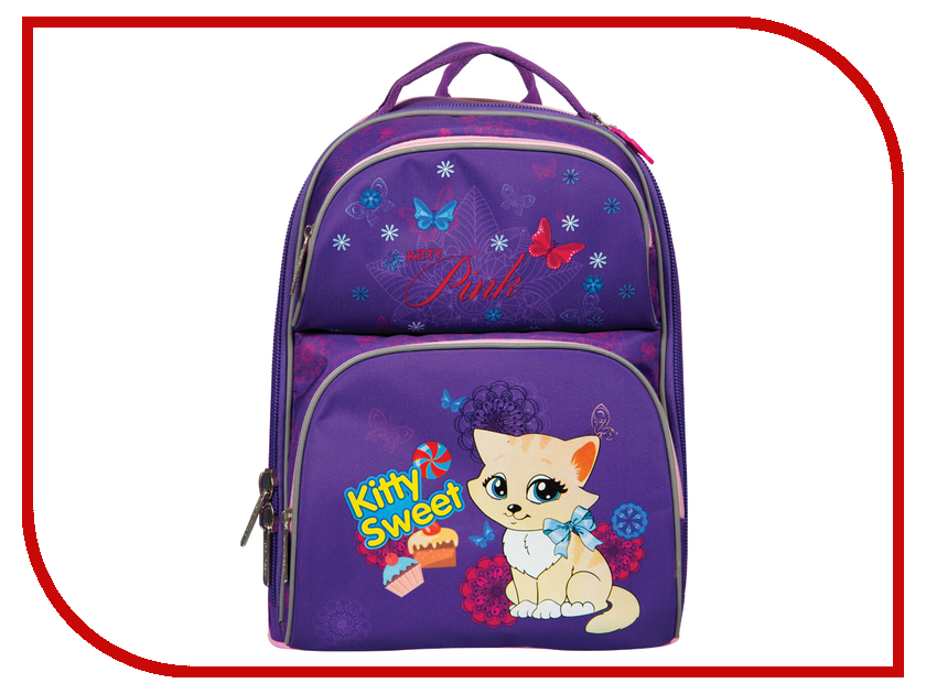 Рюкзак Berlingo Medium Kitty Sweet RU038040 254958 рюкзак berlingo medium butterfly ru038041 254959