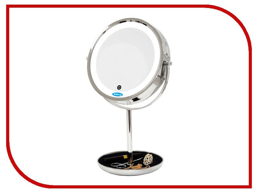 Зеркало косметическое Belberg BZ-05 с подсветкой зеркало косметическое belberg bz 02 с подсветкой
