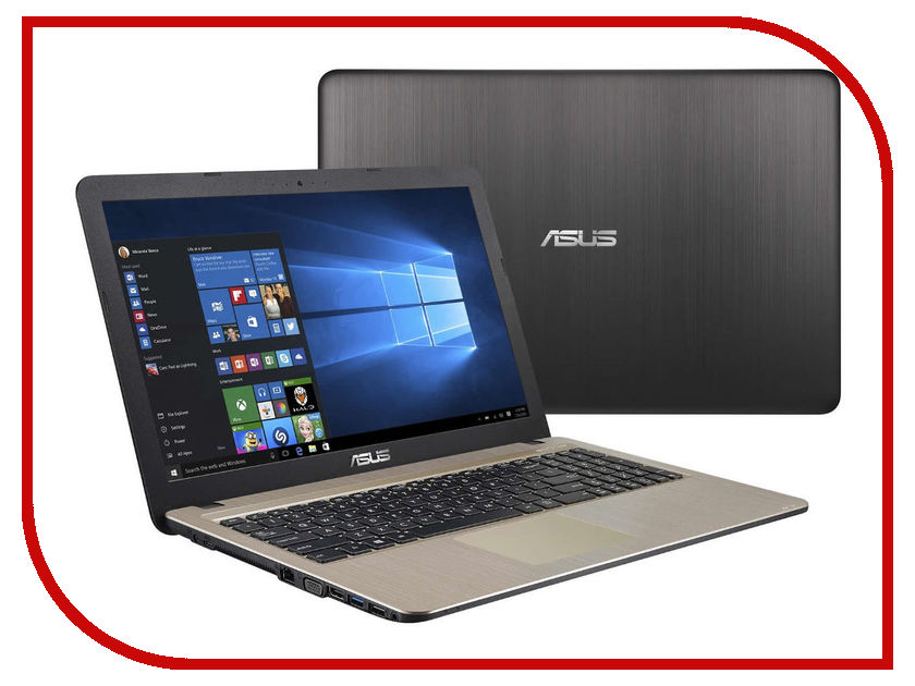 Ноутбук ASUS VivoBook X540YA-XO534T 90NB0CN1-M09280 (AMD E1-6010 1.35 GHz/2048Mb/500Gb/AMD Radeon R2/Wi-Fi/Bluetooth/Cam/15.6/1366x768/Windows 10) ноутбук hp 255 g5 w4m74ea amd e2 7110 1 8 ghz 2048mb 500gb dvd rw amd radeon r2 wi fi bluetooth cam 15 6 1366x768 dos