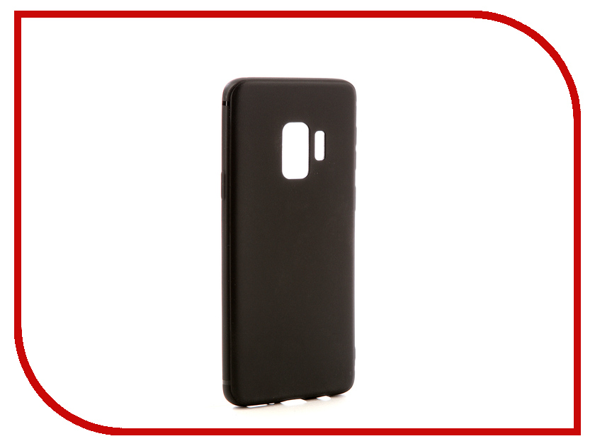 Аксессуар Чехол для Samsung Galaxy S9 Neypo Soft Matte Silicone Black NST3641 protective matte frosted back case for htc one x s720e black