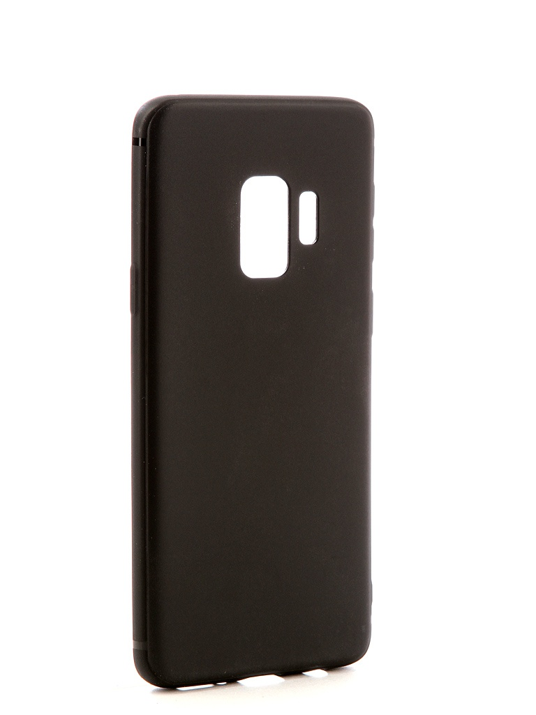 Аксессуар Чехол Neypo для Samsung Galaxy S9 Soft Matte Silicone Black NST3641