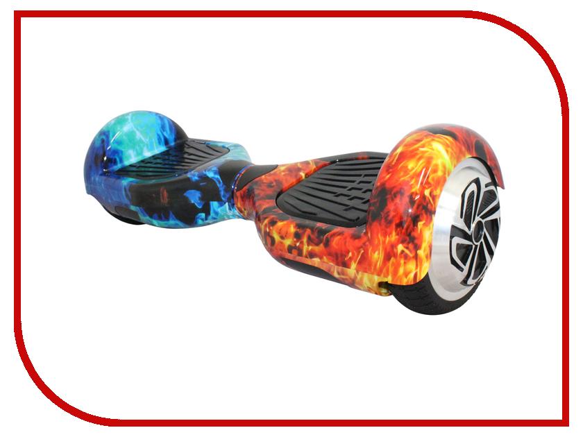 Гироскутер SpeedRoll Premium Smart 01APP Самобалансировка Red-Blue Fire