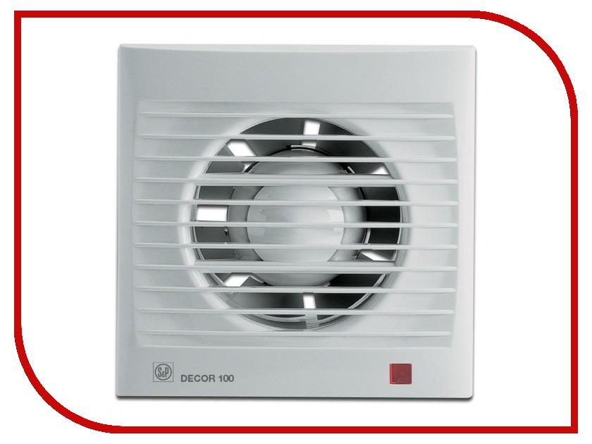 Вытяжной вентилятор Soler & Palau DECOR 100 CR