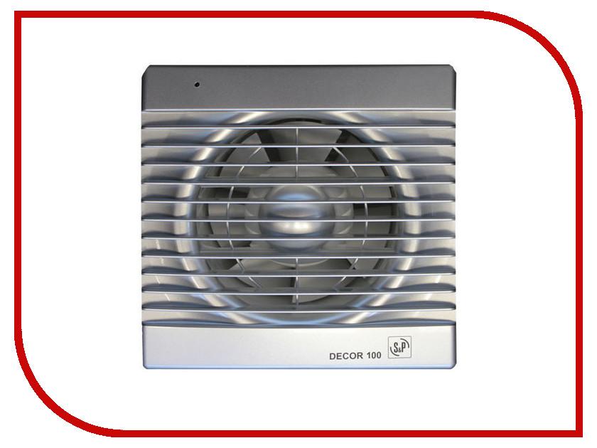 Вытяжной вентилятор Soler & Palau DECOR 100 C Silver