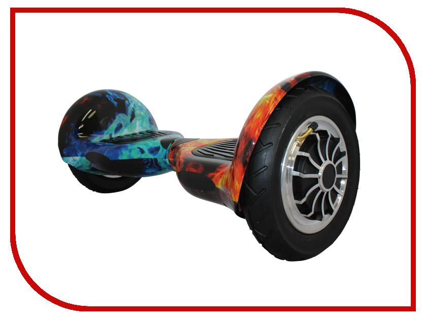 Гироскутер SpeedRoll Premium Suv 05APP Самобалансировка Red-Blue Fire