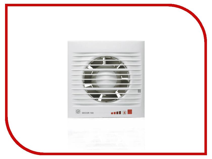 Вытяжной вентилятор Soler & Palau DECOR 100 CH датчик влажности soler