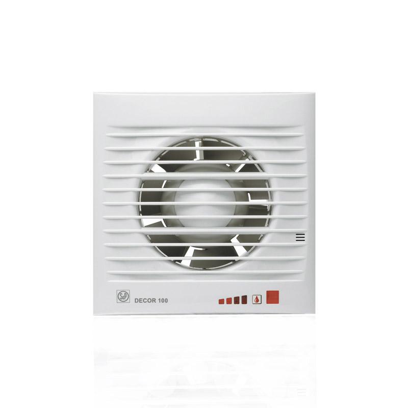 Вытяжной вентилятор Soler & Palau DECOR 100 CH