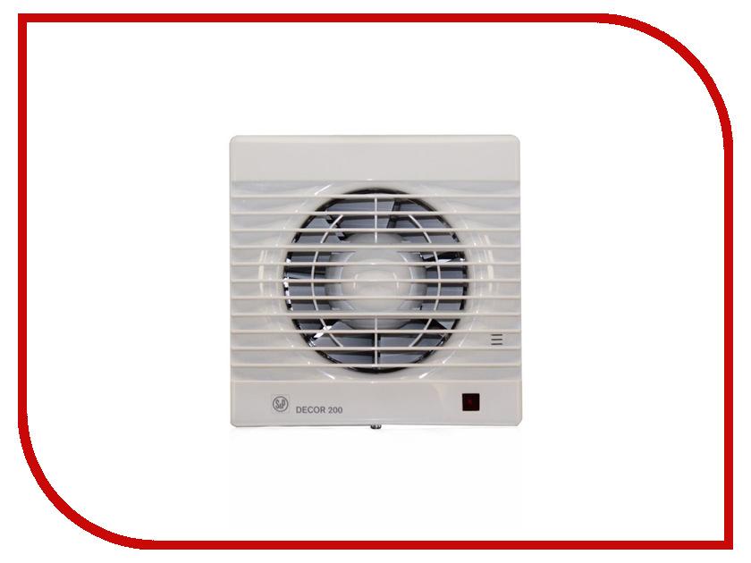 Вытяжной вентилятор Soler & Palau DECOR 200 CH