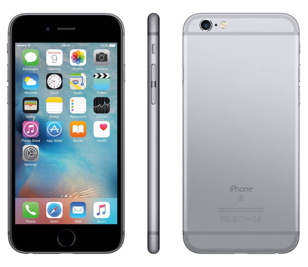 купить Сотовый телефон APPLE iPhone 6S - 16Gb Space Gray FKQJ2RU/A восстановленный дешево