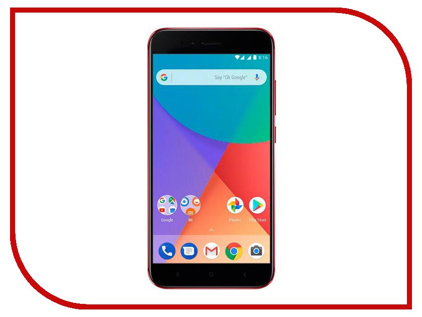 Сотовый телефон Xiaomi Mi A1 64Gb Red сотовый телефон xiaomi mi note 3 64gb black