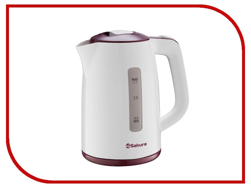 Чайник Sakura SA-2338R электробритва sakura sa 5407r