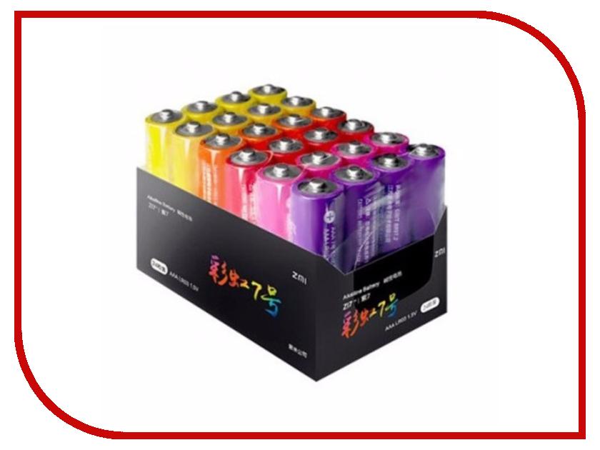 Батарейка AAA - Xiaomi ZMI AA724 (24шт) батарейка aaa xiaomi rainbow colors 10 штук