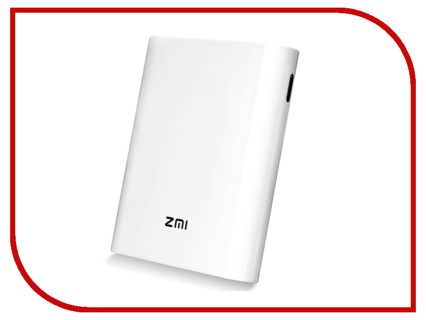 Фото - Аккумулятор Xiaomi ZMI MF855 7800mAh White с 4G-модемом аккумулятор