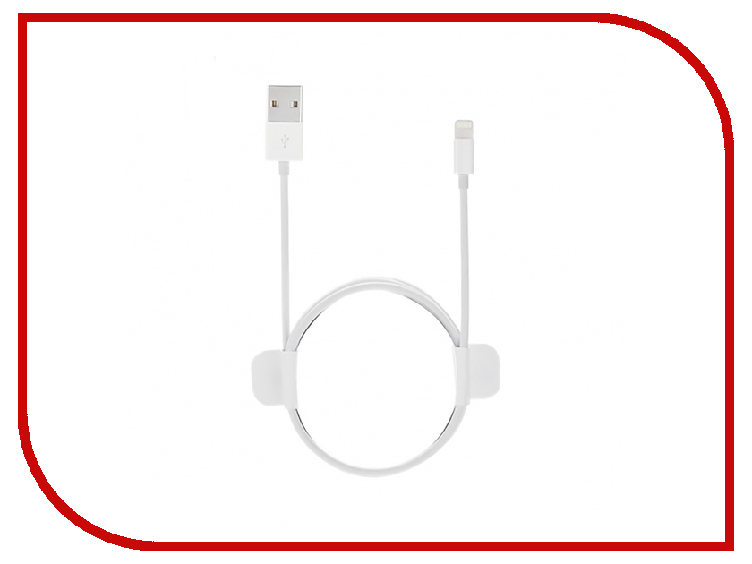 Аксессуар Xiaomi ZMI AL811/AL812 USB - Lightning MFi 100cm White аксессуар